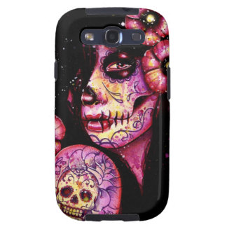 I'll Never Forget Day of the Dead Girl Galaxy S3 Cases