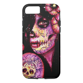 I'll Never Forget Day of the Dead Girl iPhone 7 Case