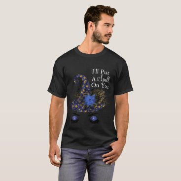 Halloween Themed I'll Put A Spell Witch Hat T-Shirt