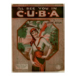 I'll see you in CUBA Posters