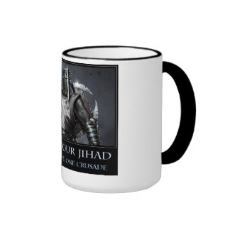 I'll see your jihad and raise you one crusade mug