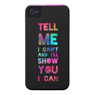 I'll Show You I Can Rainbow Case-Mate Blackberry Case