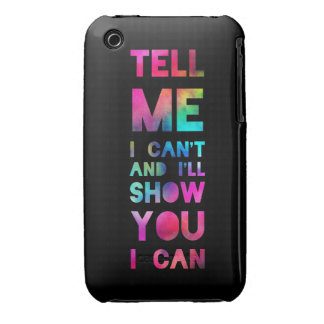 I'll Show You I Can Rainbow iPhone 3 Cover