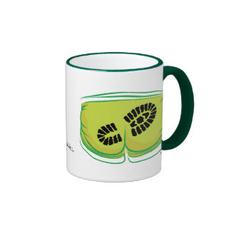 I'll show you my Carbon Footprint! Ringer Mug