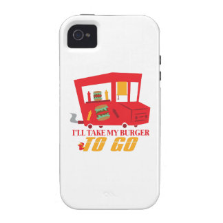I'll Take My Burger To Go Case For The iPhone 4
