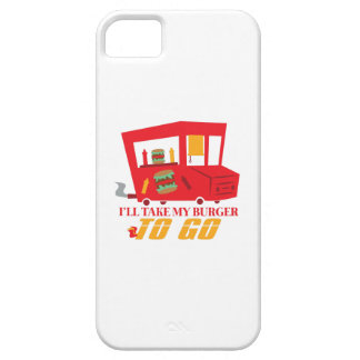 I'll Take My Burger To Go iPhone 5 Cases