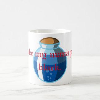 I'll Take My Mana Potion Black Mug