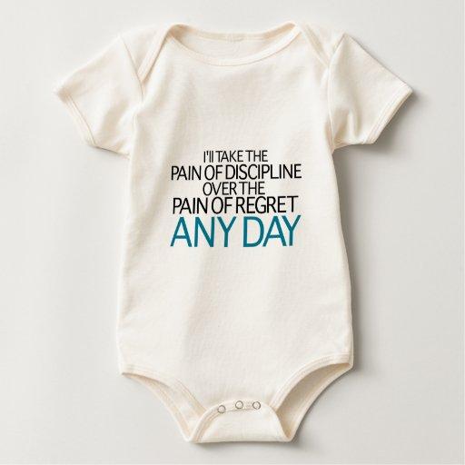 I'll Take The Pain Of Discipline Any Day Baby Creeper