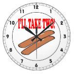 Ill Take Two Clock