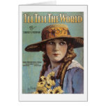 I'll Tell the World Vintage Songbook Cover Card