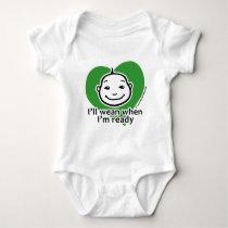 I'll wean when I'm ready Baby Bodysuit