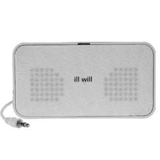 ill will  i pod laptop speakers