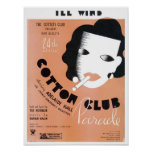 Ill Wind Cotton Club Parade Vintage Songbook Cover Poster
