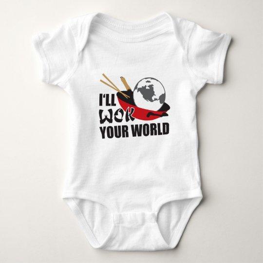 I'll Wok Your World Baby Bodysuit