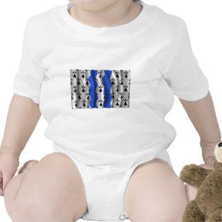 Ille-et-Vilaine que agita la bandera Traje De Bebé