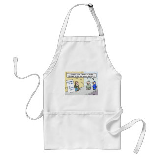illegal alien immigration please help Obama Adult Apron