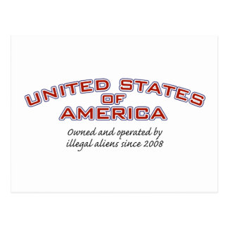 Illegal Aliens Postcard