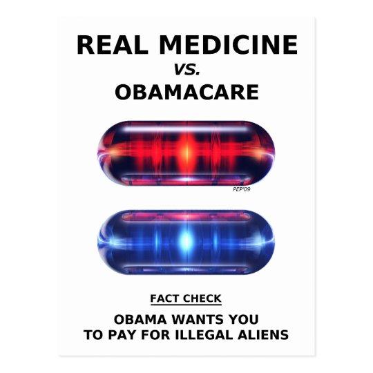 Illegal Aliens Postcard