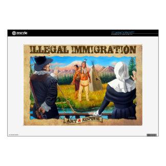 Illegal Immigration case Skins For Laptops