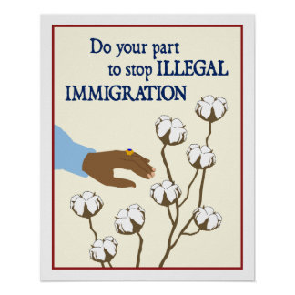 Illegal Immigration Poster