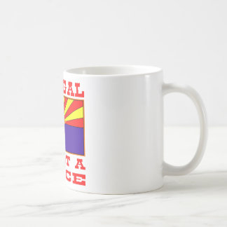 Illegal Is Not A Race Mug
