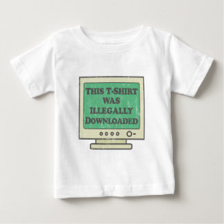 Illegally Downloaded T-shirt