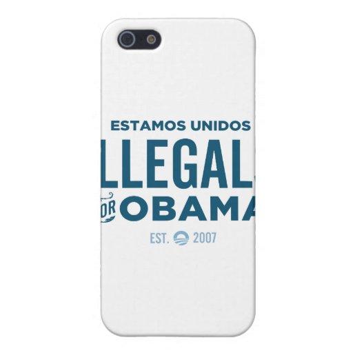 Illegals para Obama iPhone 5 Cobertura