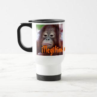 Illegitimi non carborundum Frown versus Smile Travel Mug