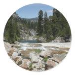 Illilouette Creek in Yosemite National Park Classic Round Sticker