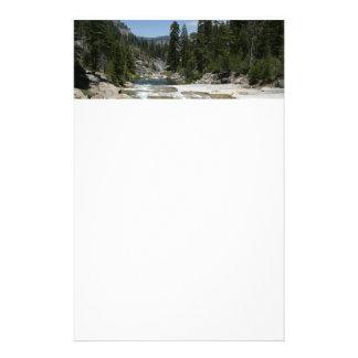 Illilouette Creek in Yosemite National Park Stationery