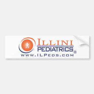 Illini Peds Bumper Sticker