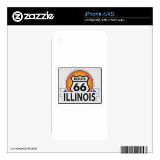 ILLINOIS66 iPhone 4 SKINS