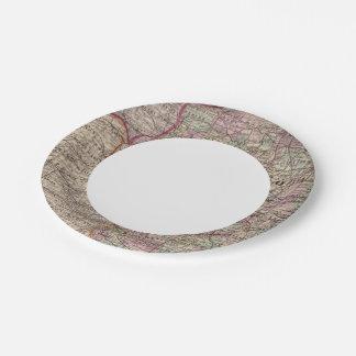 Illinois 10 paper plate