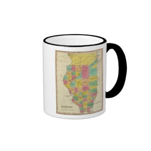 Illinois 11 taza a dos colores
