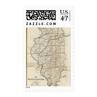 Illinois 13 postage