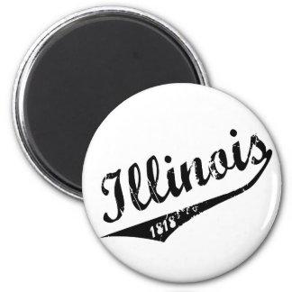 Illinois 1818 magnet