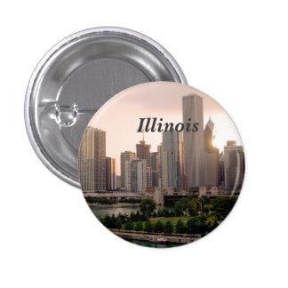 Illinois 1 Inch Round Button