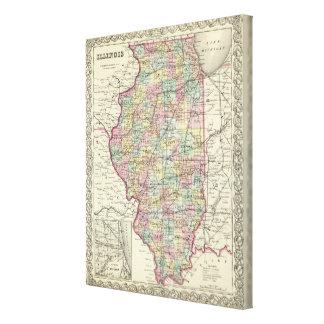Illinois 2 canvas print