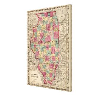 Illinois 4 canvas print