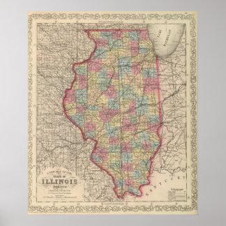 Illinois 5 poster