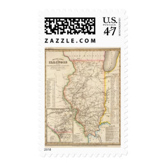 Illinois 6 postage