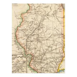 Illinois 6 postcard