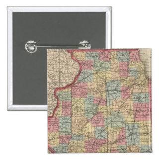 Illinois 7 pin cuadrada 5 cm