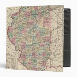 Illinois 9 3 ring binder