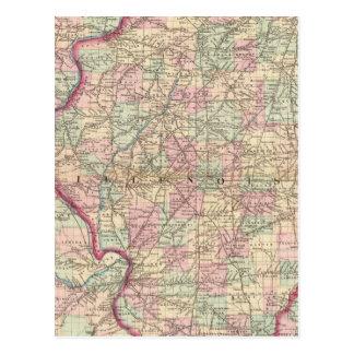 Illinois 9 tarjetas postales