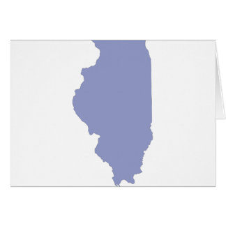 ILLINOIS a BLUE state Card