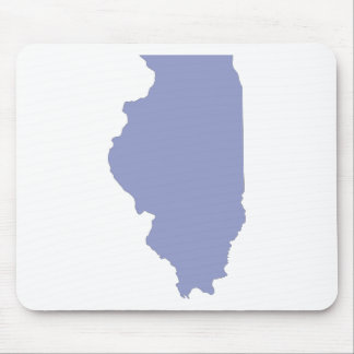 ILLINOIS a BLUE state Mouse Pad