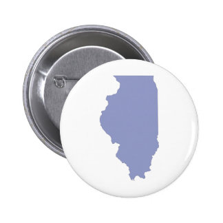 ILLINOIS a BLUE state Pinback Button