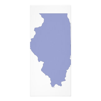 ILLINOIS a BLUE state Rack Card