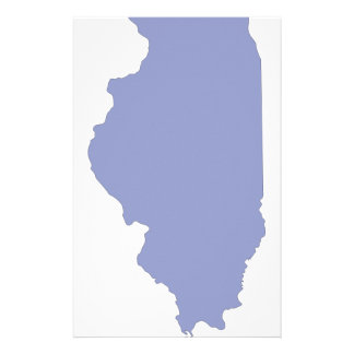ILLINOIS a BLUE state Stationery